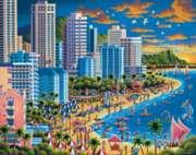 Dowdle Jigsaw Puzzles - Waikiki