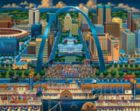 St. Louis - 500pc Jigsaw Puzzle by Dowdle
