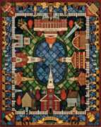 Boston Quilt - 500pc Jigsaw Puzzle by Dowdle