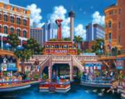San Antonio - 500pc Jigsaw Puzzle by Dowdle