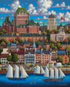 Quebec City - 500pc Jigsaw Puzzle by Dowdle