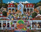 Day at the Zoo - 500pc Jigsaw Puzzle by Dowdle