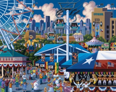State Fair - 500pc Jigsaw Puzzle by Dowdle