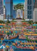 Dowdle Jigsaw Puzzles - Hong Kong