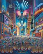 Times Square - 500pc Jigsaw Puzzle by Dowdle