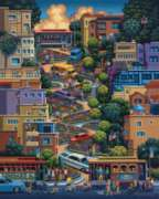 Dowdle Jigsaw Puzzles - Lombard Street