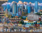 Calgary - 500pc Jigsaw Puzzle by Dowdle