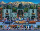 Hollywood - 500pc Jigsaw Puzzle by Dowdle