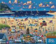 Seaside - 500pc Jigsaw Puzzle by Dowdle