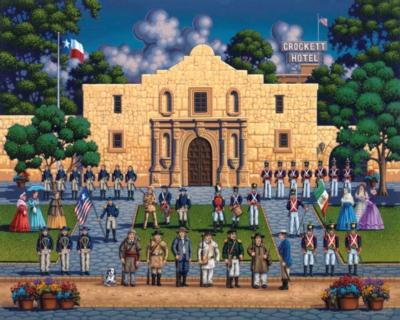 Dowdle Jigsaw Puzzles - Alamo