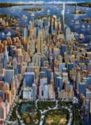 New York - 1000pc Jigsaw Puzzle by Dowdle