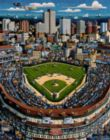 Wrigley Field - 1000pc Jigsaw Puzzle by Dowdle