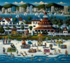 San Diego - 1000pc Jigsaw Puzzle by Dowdle