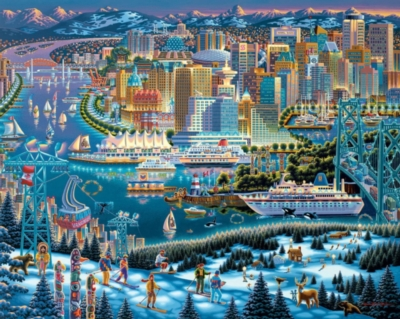 Dowdle Jigsaw Puzzles - Vancouver