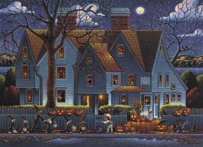 House of Seven Gables - 1000pc Jigsaw Puzzle by Dowdle