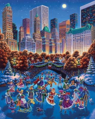 Central Park - 1000pc Jigsaw Puzzle by Dowdle