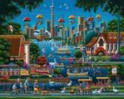 Toronto Island - 1000pc Jigsaw Puzzle by Dowdle