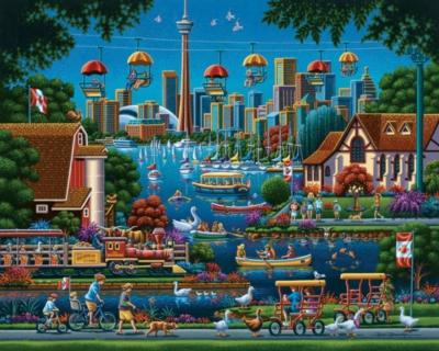 Dowdle Jigsaw Puzzles - Toronto Island
