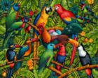 Birds of a Feather - 100pc Jigsaw Puzzle by Dowdle