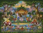 The Fairy Family - 50pc Jigsaw Puzzle by Dowdle