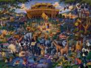 Noah's Ark - 50pc Jigsaw Puzzle by Dowdle