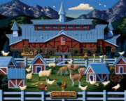 Farm Country - 50pc Jigsaw Puzzle by Dowdle