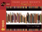 Frank Lloyd Wright's Pencils - 1000pc Jigsaw Puzzle by Pomegranate