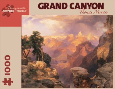 Grand Canyon with Rainbow - 1000pc Jigsaw Puzzle by Pomegranate