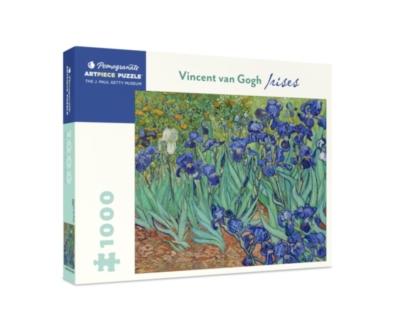 Irises - 1000pc Jigsaw Puzzle by Pomegranate