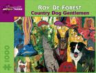 Country Dog Gentlemen - 1000pc Jigsaw Puzzle by Pomegranate