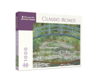 Claude Monet - 1000pc Jigsaw Puzzle by Pomegranate
