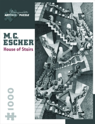 House Of Stairs - 1000pc Jigsaw Puzzle by Pomegranate
