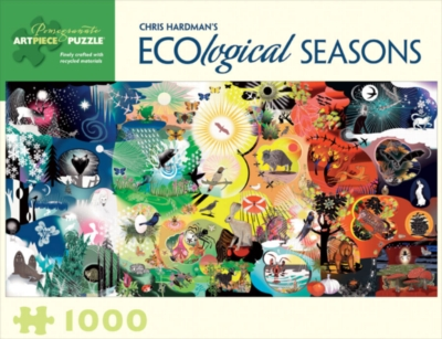 Ecological Seasons - 1000pc Jigsaw Puzzle by Pomegranate