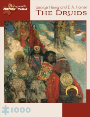 The Druids - 1000pc Jigsaw Puzzle by Pomegranate