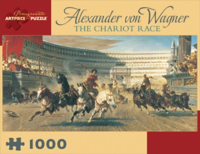 The Chariot Race - 1000pc Jigsaw Puzzle by Pomegranate