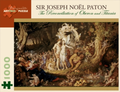 Reconciliation of Oberon & Titania - 1000pc Jigsaw Puzzle by Pomegranate