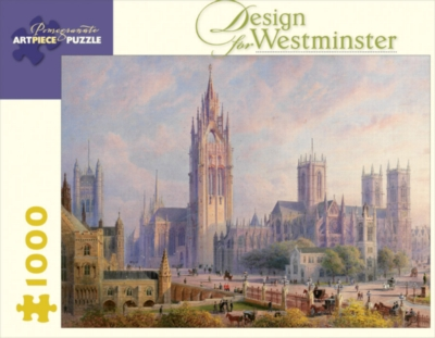 Design For Westminister - 1000pc Jigsaw Puzzle by Pomegranate