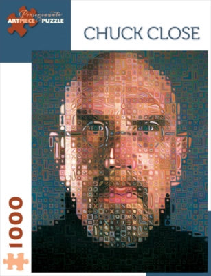 Chuck Close - 1000pc Jigsaw Puzzle by Pomegranate