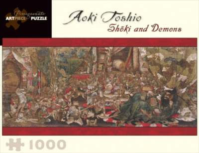 Shoki And Demons - 1000pc Jigsaw Puzzle by Pomegranate