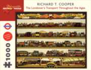 Londoner's Transport Throughout the Ages - 1000pc Jigsaw Puzzle by Pomegranate