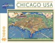 Jigsaw Puzzles - Chicago, USA