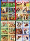 Seasonal Scenes - 1000pc Jigsaw Puzzle by New York Puzzle Co.