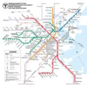 Boston Subway Puzzle - 500pc Jigsaw Puzzle by New York Puzzle Co.