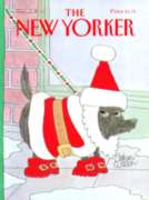 Santa Dog - 500pc Jigsaw Puzzle by New York Puzzle Co.