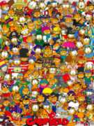 Jigsaw Puzzles - Garfield: All Dressed Up