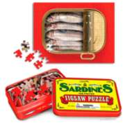 Jigsaw Puzzles - Sardine Tin