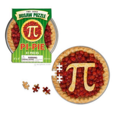 Pi-Pie - 81pc Round Jigsaw Puzzle