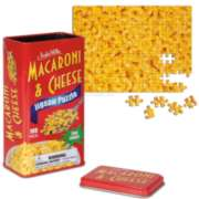 Two Sided Macaroni and Cheese - 108pc Jigsaw Puzzle