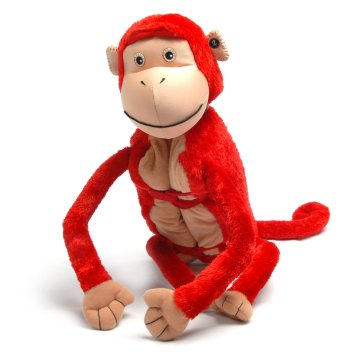 "Mashaka (Plush / Pillow / Blanket) - 22.5"" Monkey By Zoobie Pets"