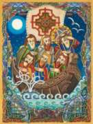 St. Brendan The Navigator - 1000pc Jigsaw Puzzle by Purrfect